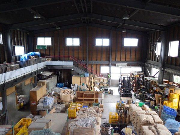 倉庫部分も広々です。