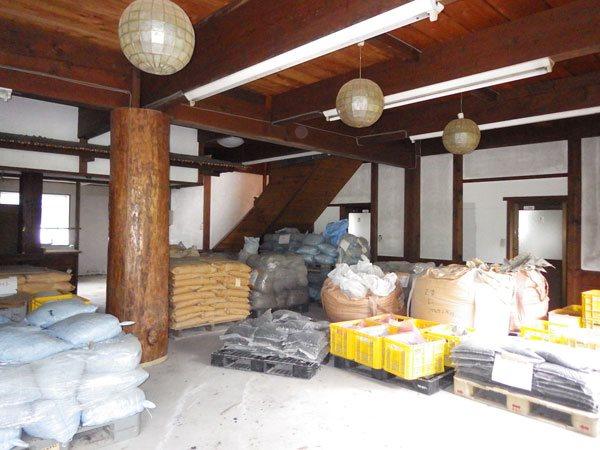 別棟の倉庫部分です。
