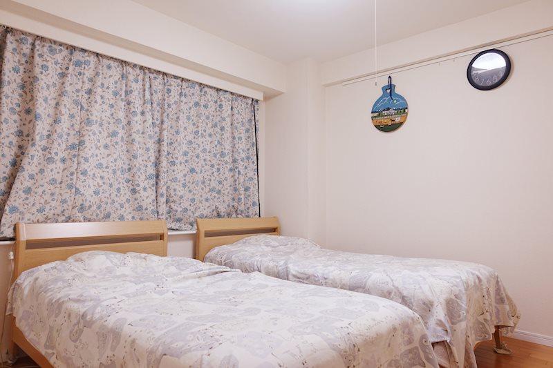 約6帖のサービスルームは主寝室としてお使い頂けます。