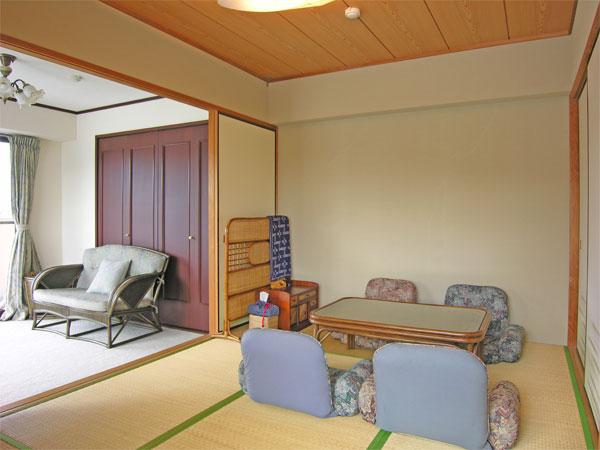 和室の襖を全開にすれば、開放的に使用出来ますね。