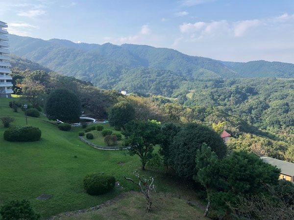 【眺望】伊東市は緑も豊かです。