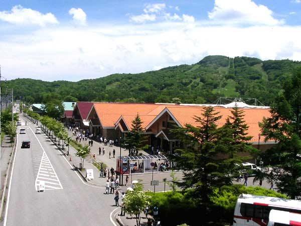 軽井沢プリンスショッピングプラザもお気軽に利用いただける距離です。