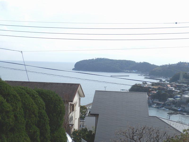 現地からの眺望です。