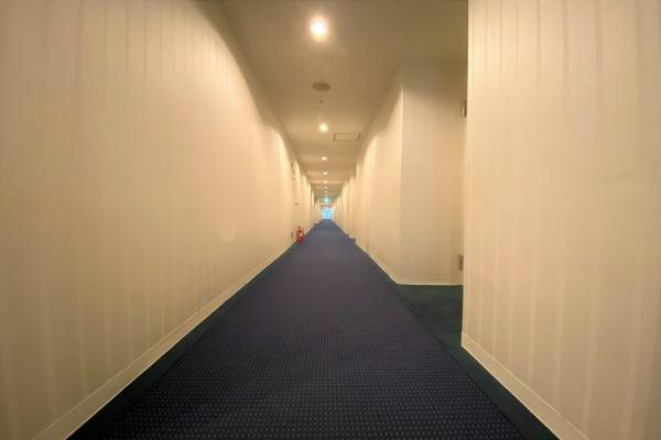廊下は内廊下になりますので湯冷めの心配もございません。