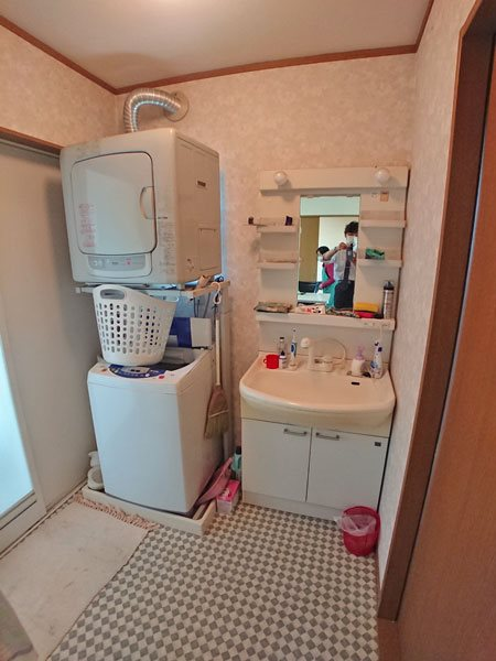 2階居住用スペース、洗面・脱衣スペースです。
