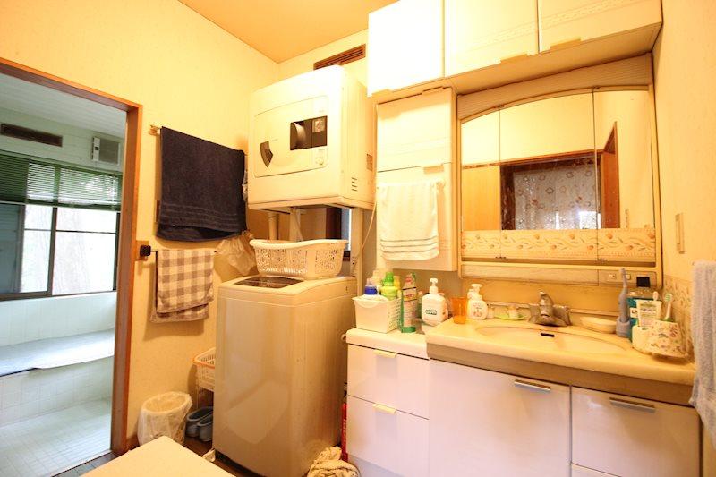 洗面室の様子。