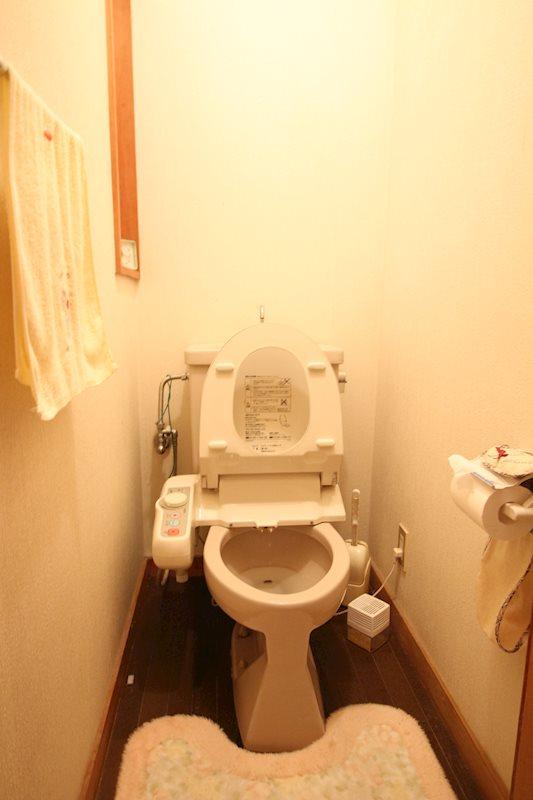 トイレは2か所あります。