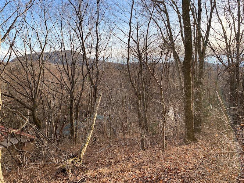 離山を望む、約200坪の土地です!