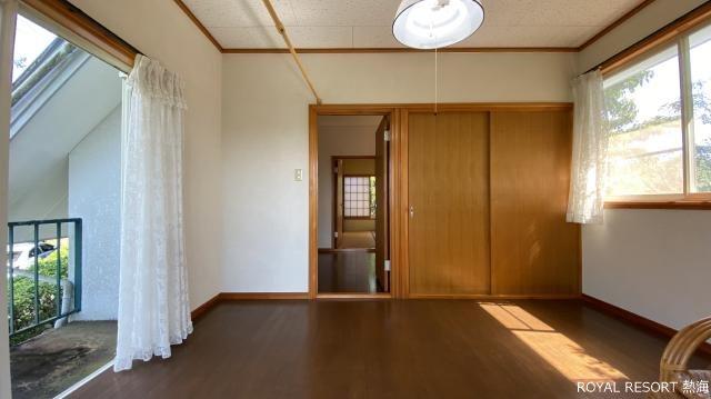 眺望:天気がいいと遠望にはなりますが富士山がご覧いただけます。