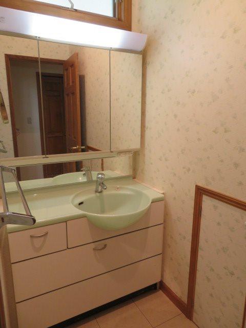 一階の洗面室の様子