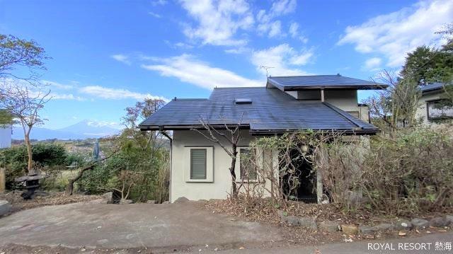 富士山、箱根連山を望む眺望。この日は心地良い風が吹いておりました。