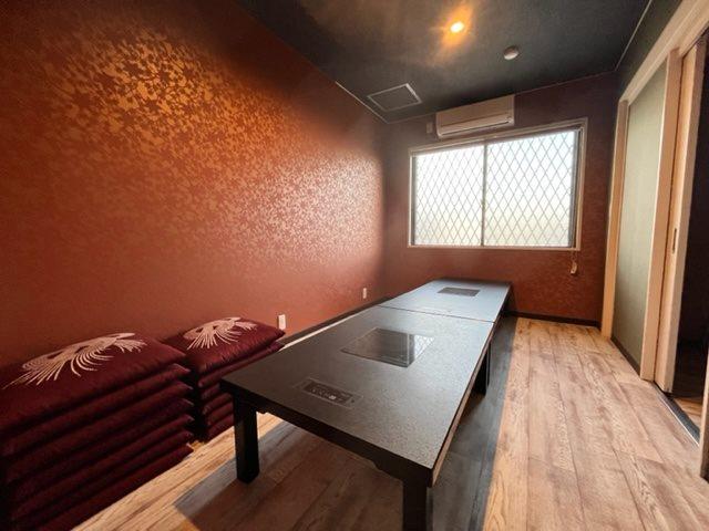 2階にも個室スペースがあります。