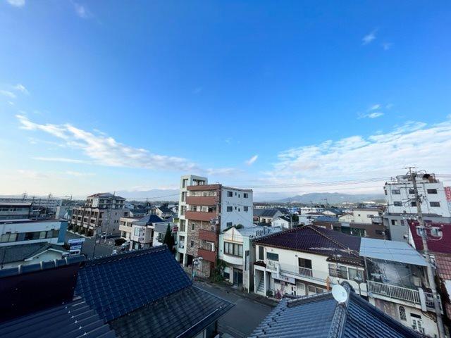屋上から佐久平四方の眺めが満喫できます。