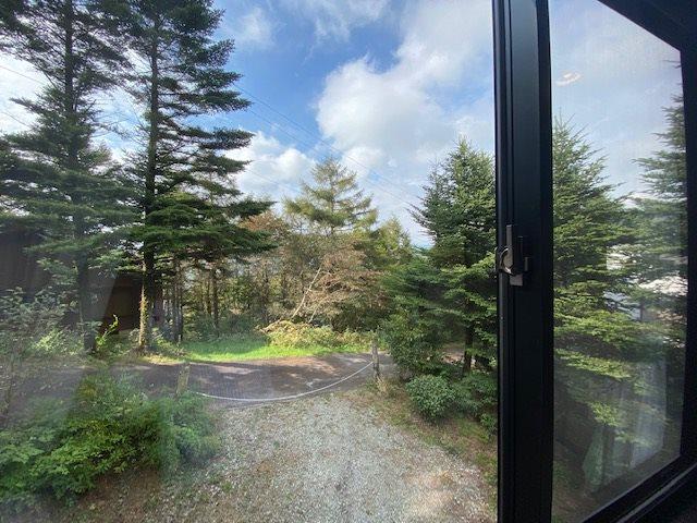 2階の窓からの眺めです。
