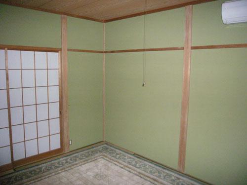 1階和室です。こちらも現オーナー様が襖を換えており大変綺麗です。