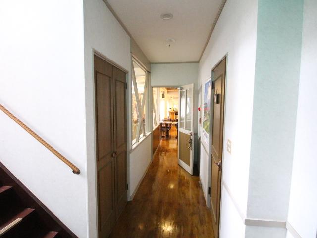 廊下の様子。