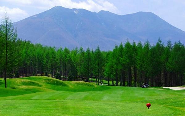 ゴルフ好きにも大人気なエリアです。