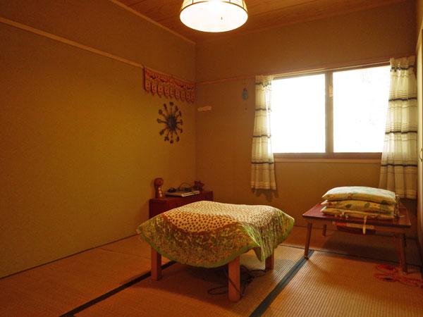 約6畳和室の様子です。ゲストルームとしても活躍します。