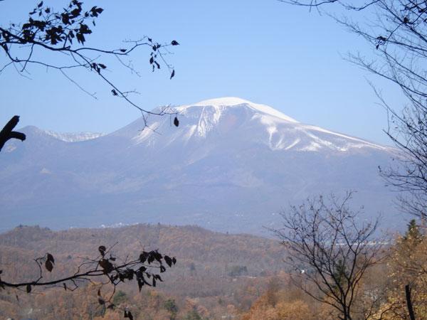 緑の季節ももちろんですが、これから雪の浅間山は圧巻です。贅沢な時間をお過ごしください。