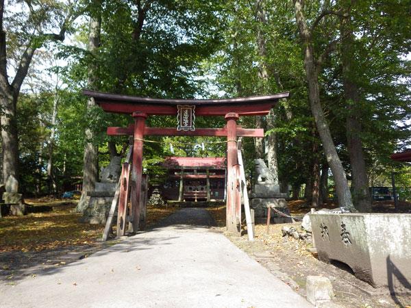 風情のある「遠近神社」の公園も近くにございます。