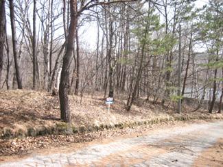 『千ヶ滝東区』の高台の別荘地