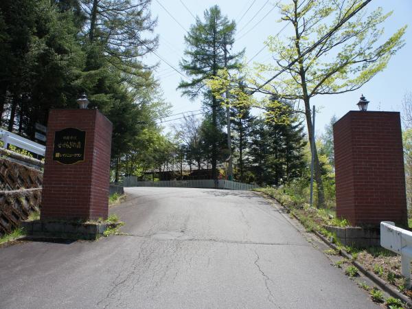 せせらぎの森の入口。
