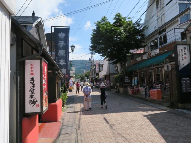 旧軽井沢銀座通りまで約1km徒歩約13分