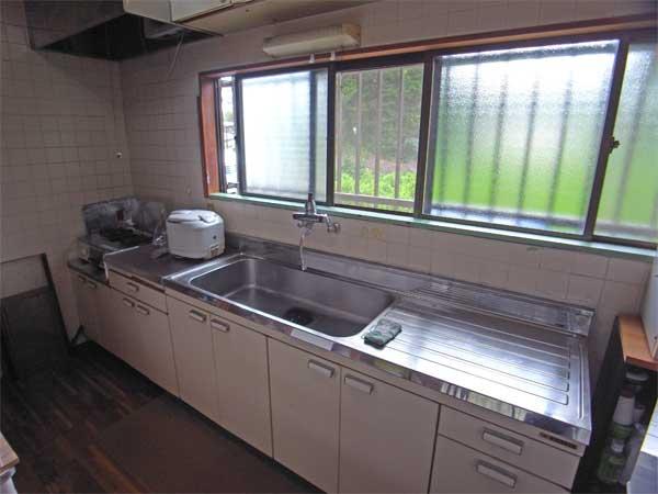 キッチン ゆったりとしたスペースがとても使いやすくなっております。