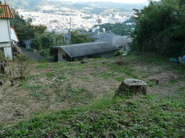 伊東駅に近い眺望の取れた温泉利用可能な土地