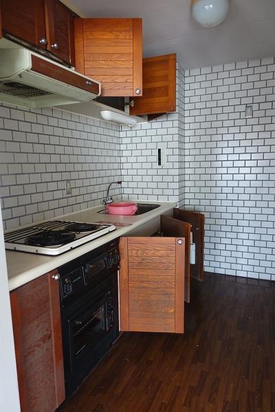 キッチンです。手直しシテから利用することをお奨めいたします。