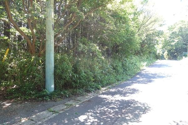 幅員約5.5mの私道 舗装道路ですので、お車を大事にされている貴殿にもお勧めです。