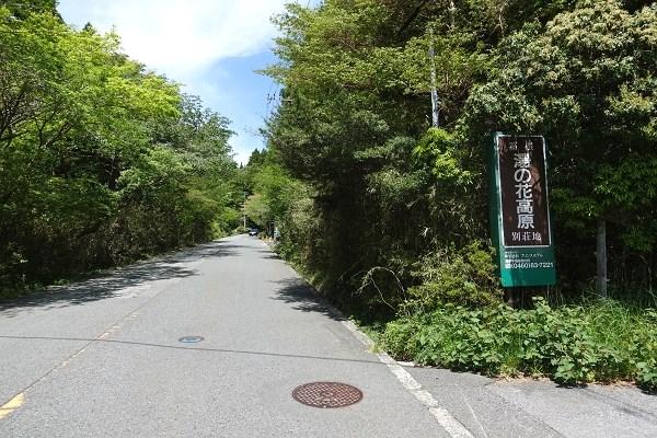 湯の花高原別荘地は、かつて西武系列の会社が分譲しました。